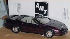 8903 AMT DEALER PROMO CAR 1996 CAMARO CONVERTIBLE CYCLAMEN METALLIC MINT in BOX