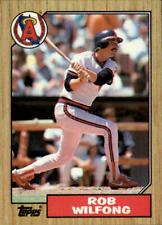 1987 Topps #'s 251-500 Baseball - You Pick - Buy 10+ cards FREE SHIP
