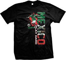 Mexico Fútbol Futbol Play Hard Soccer Football Selección México Mens T-shirt