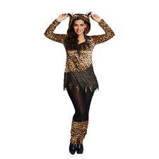 Rub - Leopard Damen Kostüm Raubkatze Karneval Fasching