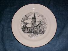 1815-1965 FIRST METHODIST CHURCH VOORHEESVILLE NY PLATE