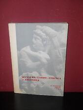 Scultura tardo-etrusca di Volterra - La Strozzina - 1964