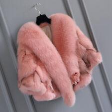 Women's Fur Coats 100% Real Fox Fur Short Jacket Coat Fashion Fur Clothing