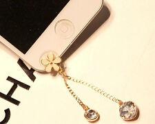 Anti-Dust Plug Earphone Cute Front Ear Cap Plug For iPhone 5 5c 5s 6 6 Plus
