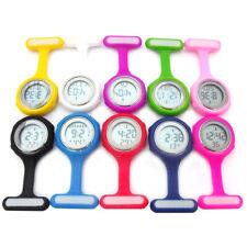 Cute Digital Clip-On Fob Nurse Brooch Pin Hang Pocket Electric Watch Lot Novelty