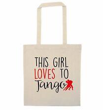 Questa ragazza ama Tango Tote Bag Ballerina Sala da ballo regalo DI CLASSE di DANZA COPPIA 2857