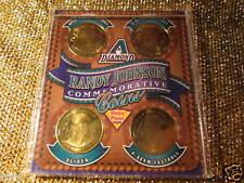 Randy Johnson #51 Arizona Diamondbacks Dbacks Peter Piper Pizza Gold Coin Set