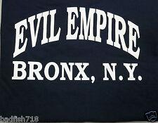 New York Yankees EVIL EMPIRE Bronx NY T-Shirt NWT Boston Red Sox Rivalry