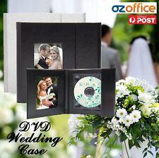 Classic Wedding Case Album Wedding DVD USB Case Portfolio Anniversary Leather
