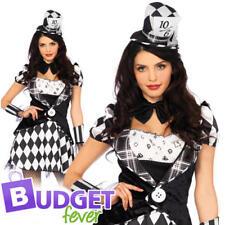 Dark Mad Hatter Ladies Fancy Dress Leg Avenue Womens Adults Halloween Costume