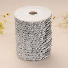 2mt filo passamaneria fibra nylon intrecciato 5mm vari colori