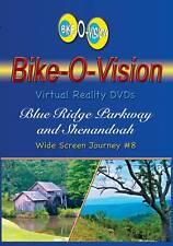 """Bike-O-Vision Cycling Video, Blue Ridge Pkwy & Shenandoah""""  Widescreen DVD"""