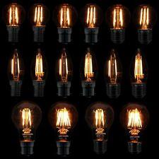 Filamento LED 2W 4W 6W Bombilla Clásico Estilo Retro B22 BC ES SES E14 lámparas E27