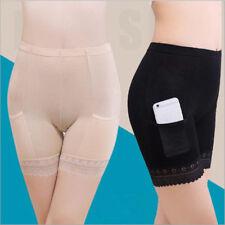 Women Modal Long Leg Briefs with Pockets Underwear Pettipants Knickers Hot