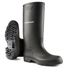 Dunlop Wellington Pricemastor noir welly Wellie boot