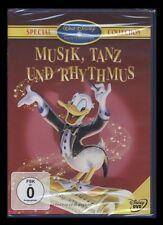 DVD WALT DISNEY - MUSIK, TANZ UND RHYTHMUS - SPECIAL COLLECTION *** NEU ***