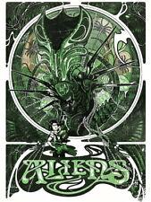 Aliens 1986 Movie Alien Queen Xenomorph Ellen Ripley Huge Print POSTER Affiche