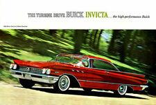 188620 1960 Buick Invicta 2 Door Hardtop Print Poster Affiche
