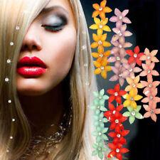 Accessori acconciatura capelli fiori fiore strass decorazioni fissaggio freddo