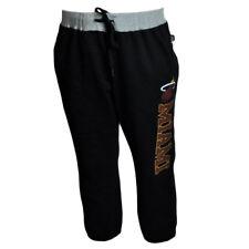 Unk Miami Heat NBA Women Ladies Capri Sweat Basketball Black Crop Pants