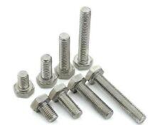 2x Titanium M6x15 - 60mm Hex Head Flange Bolt Screw Fastener #M1530 QL