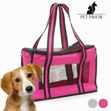Sac de voyage cage de transport en tissu pour animaux Pet Prior - rose ou gris