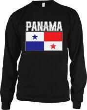 Panamanian Country Flag - Panama Nationality Pride Long Sleeve Thermal