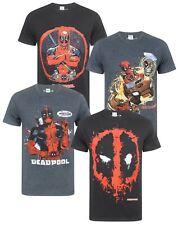 Marvel Deadpool Men's T-Shirt Various Styles Sizes S-XXXL