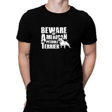Beware of American Pitbull Terrier T-shirt