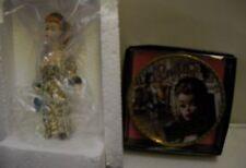 #553 Enesco Evening Splendour Barbie Figure/Mini Plate