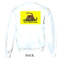 Vintage Flag Sweatshirt - Don'T Tread On Me