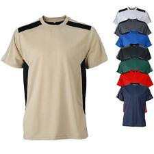 James & Nicholson Herren Kurzarm Funktions T-Shirt  verschiedene Farben S - XXXL