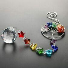 The Tree of Life Crystal Prism Ball Suncatcher Rainbow Maker Chandelier Decor