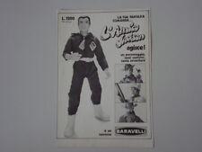 advertising Pubblicità 1973 BARAVELLI L'AMICO JACKSON