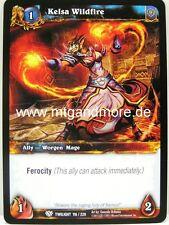 WoW - 4x Kelsa Wildfire - Twilight of the Dragons