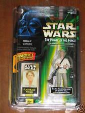 Luke Skywalker w/blaster rifle (POTF - Flash Back)  **Star Wars Unopened**