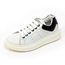 C1306 sneaker bimbo MOMINO BOLIVIA NOTTE scarpa bianco/blu shoe kid