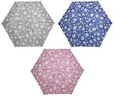 Drizzles Donna Supermini Rose Design pulsante Handle Umbrella