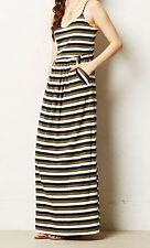 The Addison Story Boardwalk Maxi Dress Small, Medium Neutral NW ANTHROPOLOGIE Ta