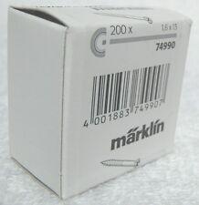 Märklin 74990 C rail (bevestigins) schroeven ca 200 stuks, ideaal om discreet