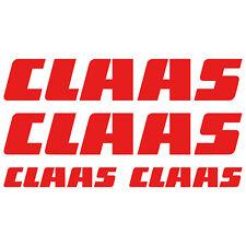 CLAAS XL aufkleber sticker mähdrescher combine schlepper tractor 4 Stücke Pieces
