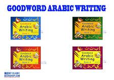 GOODWORD ARABIC WRITING BOOK 1 / 2 / 3 / 4   WRITE & LEARN MUSLIM KIDS BOOKS
