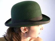 NUOVA BOMBETTA Verde Oliva inglese GENTLEMAN'S Lana Derby Taglie S M L XL