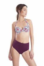 Costume bikini fascia ferretto coppa imbottita Allacciatura collo slip alto 3088
