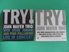 John Mayer Try Trio Jordan Amp Guitar Blues Car Sticker