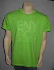 ENYCE Sean Combs Lime Green Urbanwear T Shirt Hip Hop