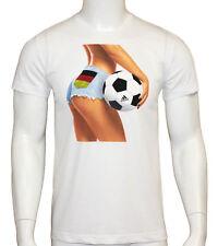 Adidas Summer Fan Deutschland EM WM T-Shirt Gr. XS - 152 - 164 / Gr. S - 176 Neu