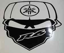 R6 YAMAHA MOTORCYCLE SKULL STICKER DECAL