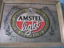 AMSTEL LIGHT BAR MIRROR