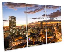 Bogota Colombia Skyline Picture TREBLE CANVAS WALL ART Print